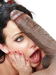 Interracial banging with big black dick and whitey Katie St. Ives