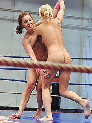 Angel Rivas and Niky Gold are fighting and fucking pretty stunning