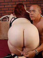 Fatty Latina Bella was fucked right in her giant natural boobies
