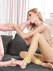 Lucy Heart and Erica Fontes are having a gorgeous lesbian sex