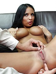 Hardcore Latina Anissa Kate is getting drilled in her tight anal hole