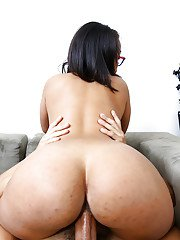 Busty amateur Latina Ava Sanchez was screwed hard in her tight hole
