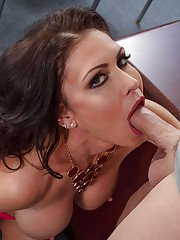 Teacher Jessica Jaymes a hot milf getting naughty spreading her pussy