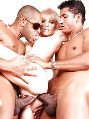 Blonde Wiska has every hole pf her body drilled in interracial rampage