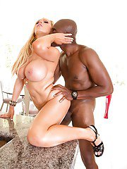 Well-hung stud dominates milf Nikki Benz in a hot interracial fuck