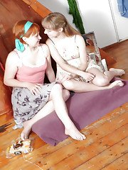 Lots of young lesbians doing their sexy thing with each others pussy