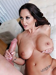 Busty Latina MILF Ava Addams having huge knockers tit fucked