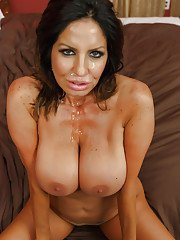 The big natural tits of Tara Holiday are perfect for tit smothering