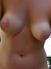 Blonde mom Amy Lee heads outdoors to deliver Gonzo themed blowjob