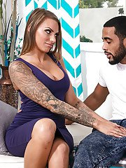 Inked Latina wife Juelz Ventura and BBC engaging in hardcore fuck session