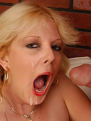 Skye is a granny in need for young meat down her thirsty throat