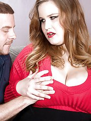 Fatty Busty Emma loves the whole penis to ruin her fat cunt