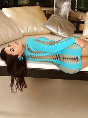 Astounding nudity solo play with slow fingering by cute Valentina Nappi