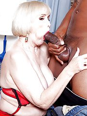 Lola Lee enjoys young black cock in her mature pussy for extreme XXX scenes