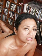 Asian amateur Lucky giving and receiving oral sex before banging of hairy cunt