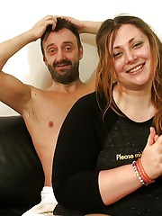 Fat first timer Estella Bathory fucking in knee socks before cumshot in mouth