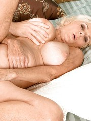 Kinky granny goes hardcore with a young dude and shares her banging experience