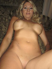 Frisky blond gf Natalie Vegas taking off her clothes in candid homemade series