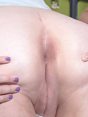 SSBBW vixen Lila Lovely favors her stud with a perfect blowjob gets a facial