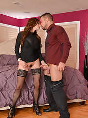 Latina MILF Ariella Ferrera seduces her husbands best friend for sex