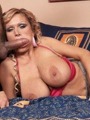 Mature Sharon Pink sevsre sex with younger bloke in amazing hardcore