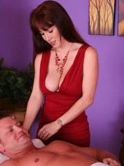RayVeness wants cock in her pussy and mouth after such an intense massage