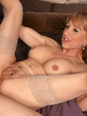 Mature vixen Shana DuPlae gives head and gets her asshole hammered hard