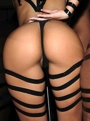 Party girls wear revealing clothing to a night of group sex for coeds only