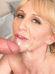 Hot older woman Kay Kummingz goes ATM with her much younger lover