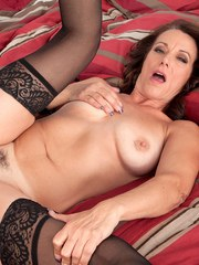 Hot older woman Mimi Moore tries interracial sex for the first time with a BBC
