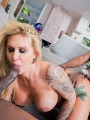 Older pornstar Ryan Conner gets gangbanged and butt fucked by big dicks