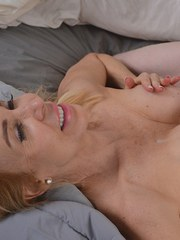 Naughty cougar Erica Lauren wants some of this boys big dick inside her