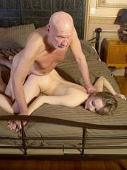 Young girl Lucette Nice works out her daddy issues with an old man