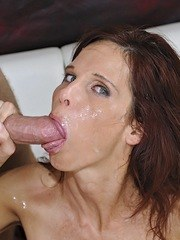 Horny divorcee Syren Demer seduces her sons best friend and fucks him hard