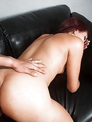 Brazilian tranny Ingrid Brazil fucked in filthy asshole by man with big cock