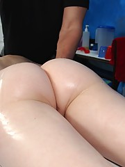 18 year old gets fucked hard by her massage therapist