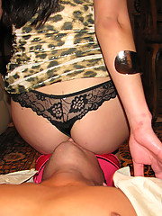 With their husbands out of town these housewives are Desperate - FOR COCK! They show