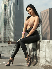 Horny Aletta Ocean fucking all she can get in Los Angeles