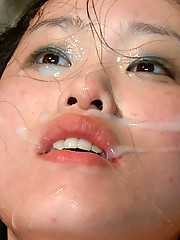 Hot Asian babe with big tits is bound fucked degraded and rewarded with multiple