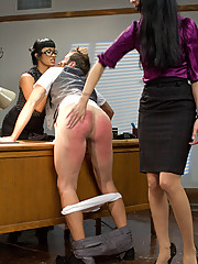 Two sext sadistic teachers punish ass fuck and give a raw foot job to a perverted