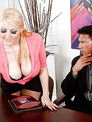 Sophie Dee is Marco Banderas assistant and she just loves to please him which way