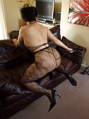 Big booty milf all dressed up for some kinky action