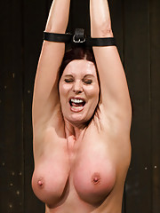 50 yr old cougar experiences bondageBDSM for the first time. She is made to cum in