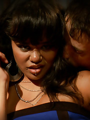 Annie Cruz has an intense gangbang in front of her boyfriend in order to humiliate
