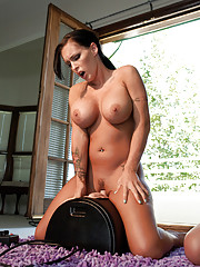 The Bitches of Wood Mansion P1 Sexual Tension. Charlie Chase amp Jenna Presley squirt
