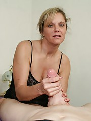 Milf Cami notices Joeys cell phone and decides to take a quick look. She sees videos