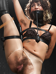 Bianca Stone is exotic flexible and rocks an epically hairy bush just waiting to