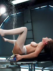 10 feet blasts of pussy juice machines soaked camera dosed fucking squirting that