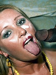 This horny girl is loving this big hard black cock in her