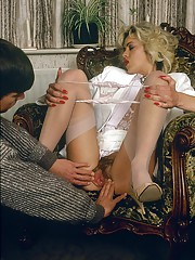Classic vintage sexy porn with very naughty horny bitchies
